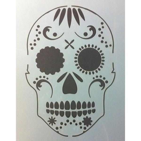 Skull Stencill