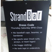 StrandBar Sign