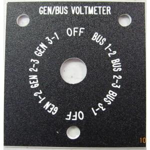 Volt meter sign