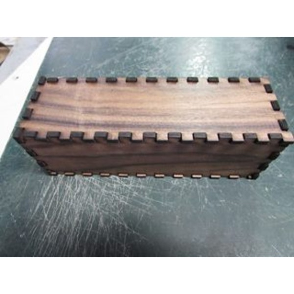 Wood box horizontal